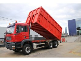 kipper vrachtwagen > 7.5 t MAN TGA 33.410 BB Kipper+containersysteem 2003