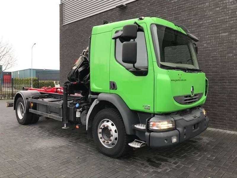 Renault - MIDLUM HOOKLIFT + HIAB CRANE 4X STOCK 5