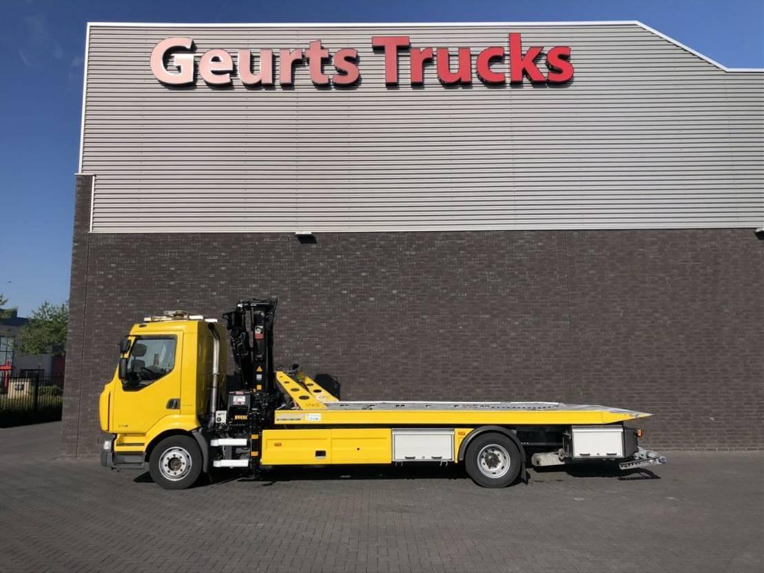 takelwagen-bergingswagen-vrachtwagen Renault Midlum 270 270 DXI BERGINGVOERTUIG 2011