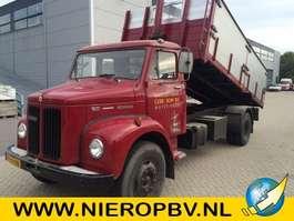 kipper vrachtwagen Scania vabis 5.0 kieper NIEUWSTAAT 1974