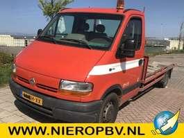 platform bedrijfswagen Renault Master Open laadbak 1620kg laadvermogen 2003