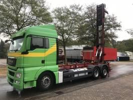 containersysteem vrachtwagen MAN Man 26-440 container/silo steller systeem 2009