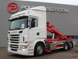 containersysteem vrachtwagen Scania R560 6x2 2012