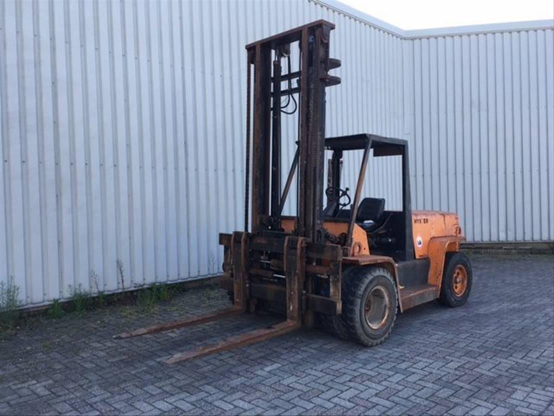 vorkheftruck Hyster H7.00XL 1990
