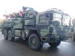 leger vrachtwagen MAN MAN KAT ANTENNE 34 Mtr Dornier 1991