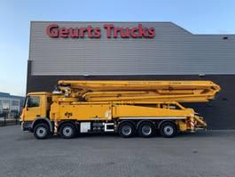 betonpomp vrachtwagen Mercedes-Benz ACTROS 5041 10X4 + SERMAC 6 RZ 56 METER CONCREET PUMP 2014