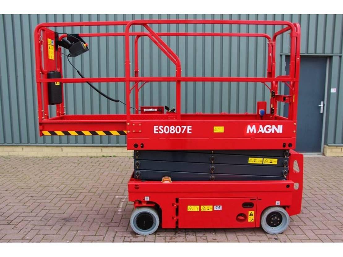 schaarhoogwerker wiel Magni ES0807E New And Unused, Electric, 7.8m Working Hei 2018