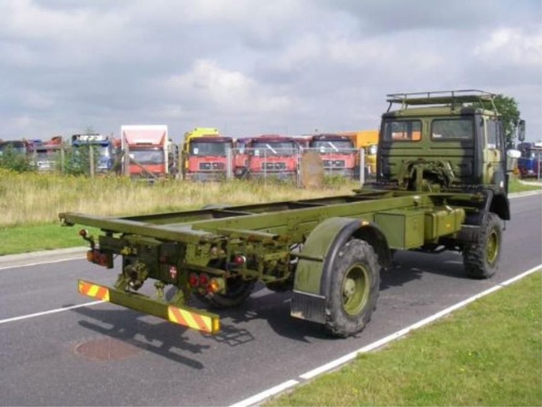 leger vrachtwagen Magirus 110 X 16 AW 4X4 EX-ARMY...LONG MODEL 4073. 1988