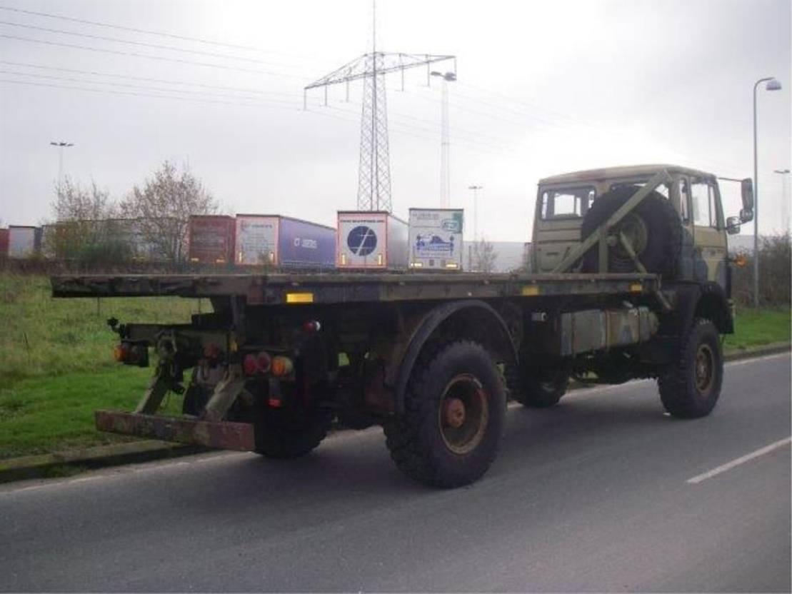 leger vrachtwagen Magirus 110 X 16 AW 4X4. 4078 1989