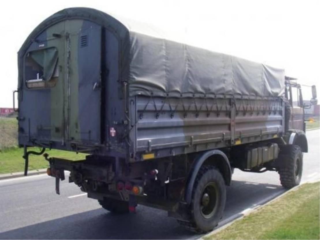 leger vrachtwagen Magirus 110 X 16 AW 4X4 EX-ARMY..4101 1987