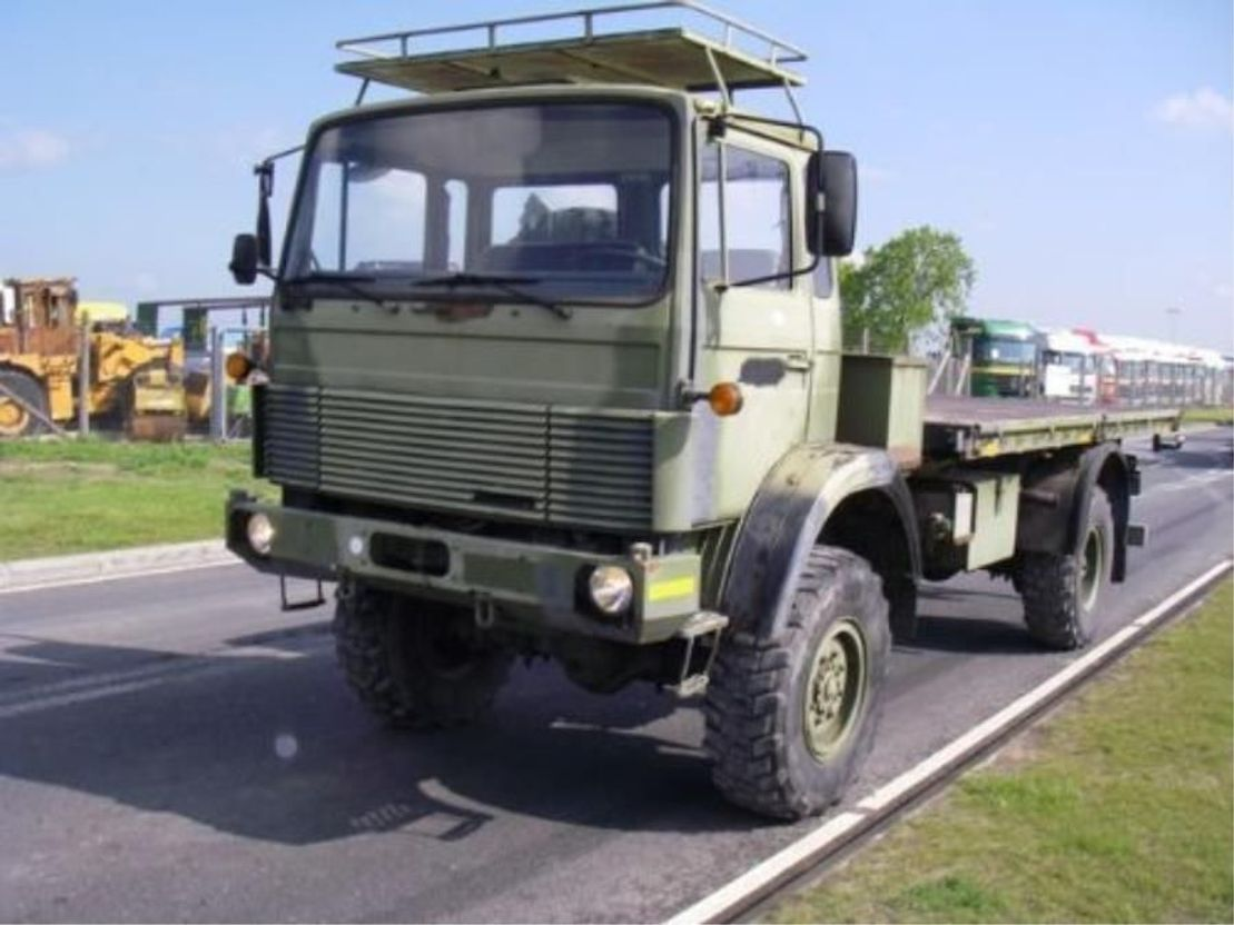 leger vrachtwagen Magirus 168 M11 FAL 4X4..4105 1983