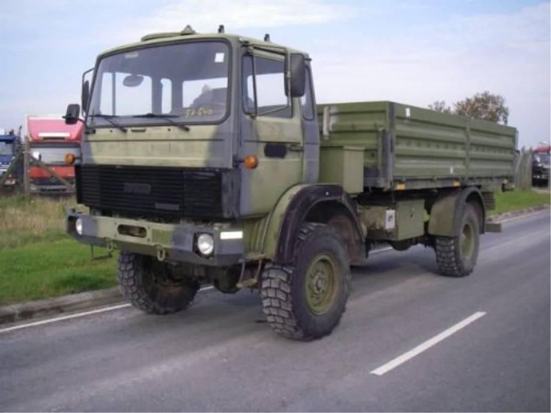 leger vrachtwagen Magirus 168 M 11 FAL 4X4 EX-ARMY.3479 1983