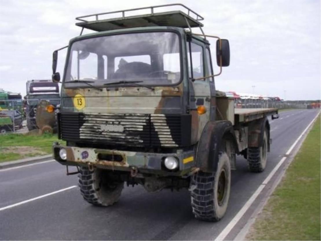 leger vrachtwagen Magirus 168 M 11 FAL 4X4....4063 1983