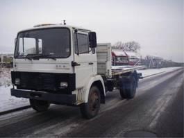 chassis cabine vrachtwagen Magirus Deutz 168 M 11. 4077 1983