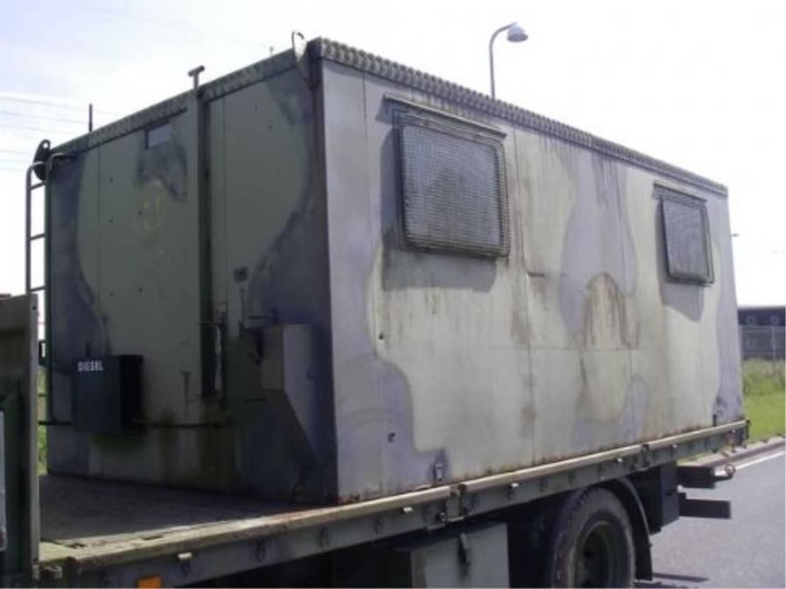 dry standaard zeecontainer Diversen RADIO BOX. 1980