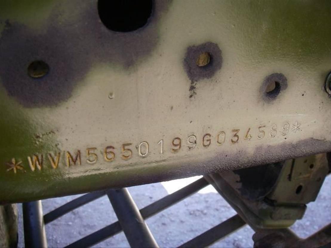 leger vrachtwagen MAN 8-136 FAE 4X4.EX-ARMY. 1985