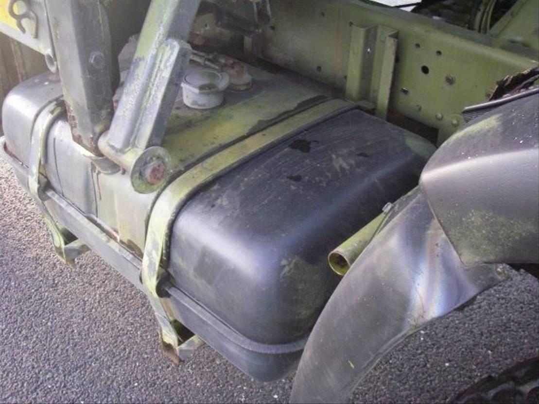 leger vrachtwagen MAN 8-136 FAE 4X4. 1986