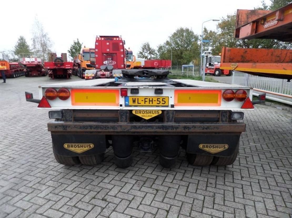 semi dieplader oplegger Broshuis 3AD-30 / 3 Axle Dolly 2004