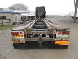 containersysteem oplegger Bulthuis 2-assige aanhanger 1988