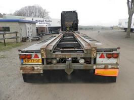 container chassis oplegger Bulthuis 2-assige aanhanger 1988