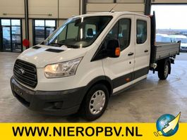 kipper bedrijfswagen Ford transit 130 pk dub cab pickup 3 zijdige kieper airco 7 persoons 2019