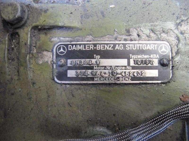Mercedes Benz - mercedes om 314 3