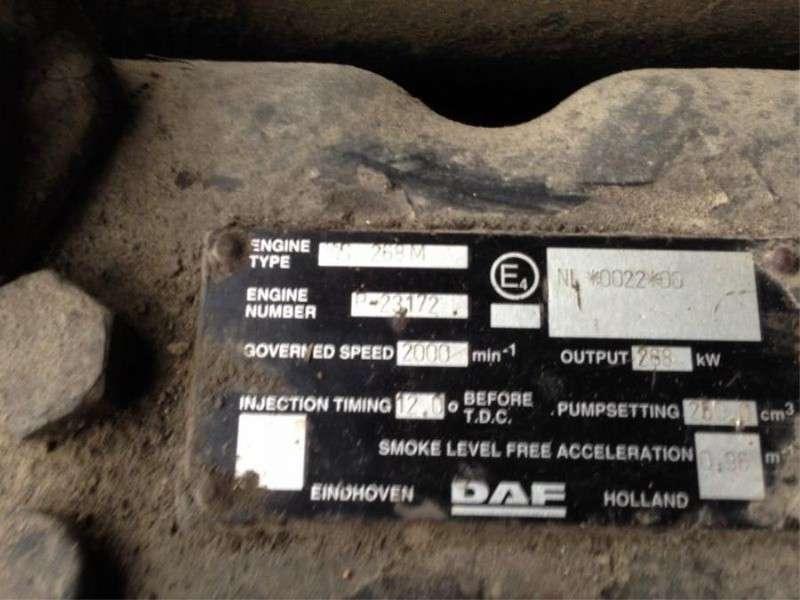 DAF - WS 268 M motor 3