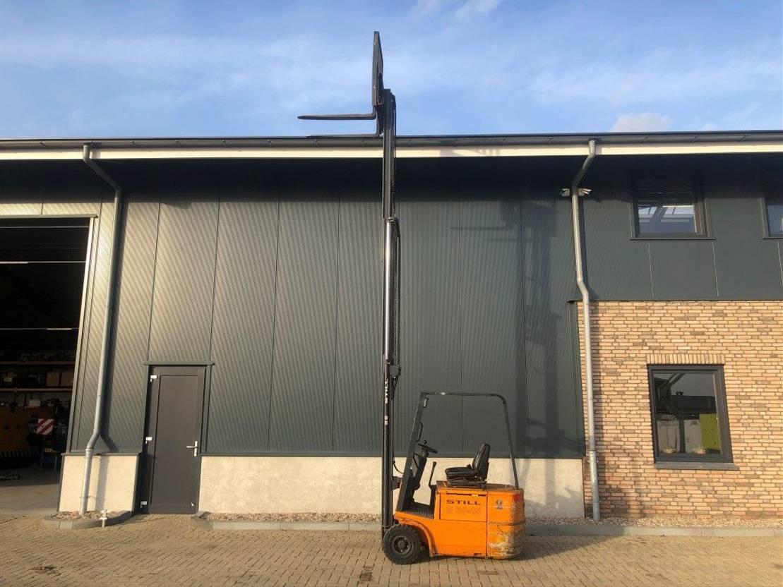 vorkheftruck Still R50-15 1.5 ton 550 cm hefhoogte Sideshift Elektra Heftruck 2003
