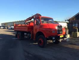 kipper vrachtwagen > 7.5 t MAN 15.192 4x4 Tipper + Crane 1982