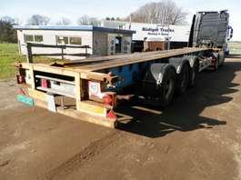 containersysteem oplegger Van Hool 3-assige oplegger 1994