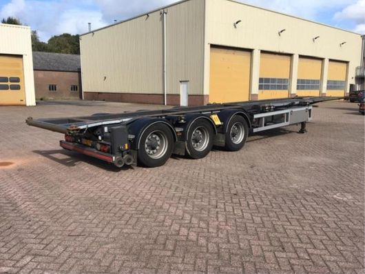 overige containers 40ft stijllader 2017