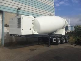 betonmixer aanhanger Bulthuis VB 3-asser + 15m3 mixer IMER 2019