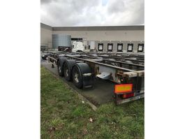 container chassis oplegger Trouillet 5 x SR 1999
