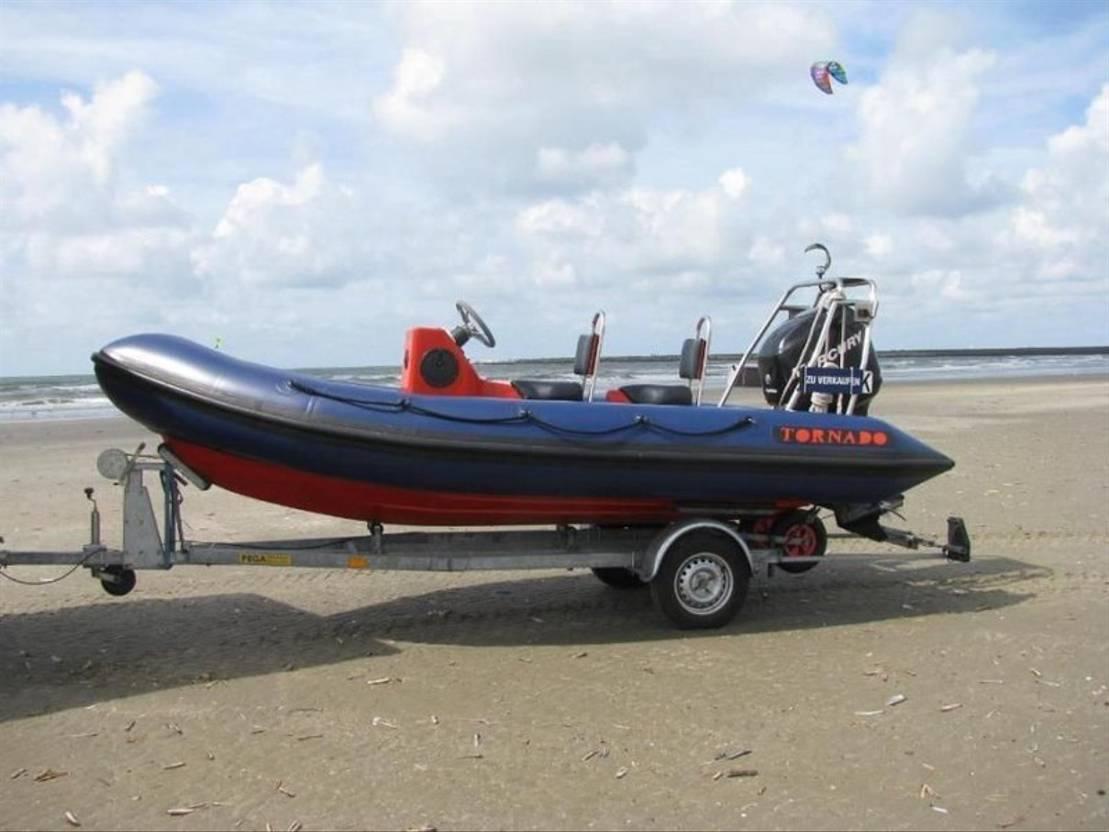 motorboot DIV. boot tornado rib 5.0