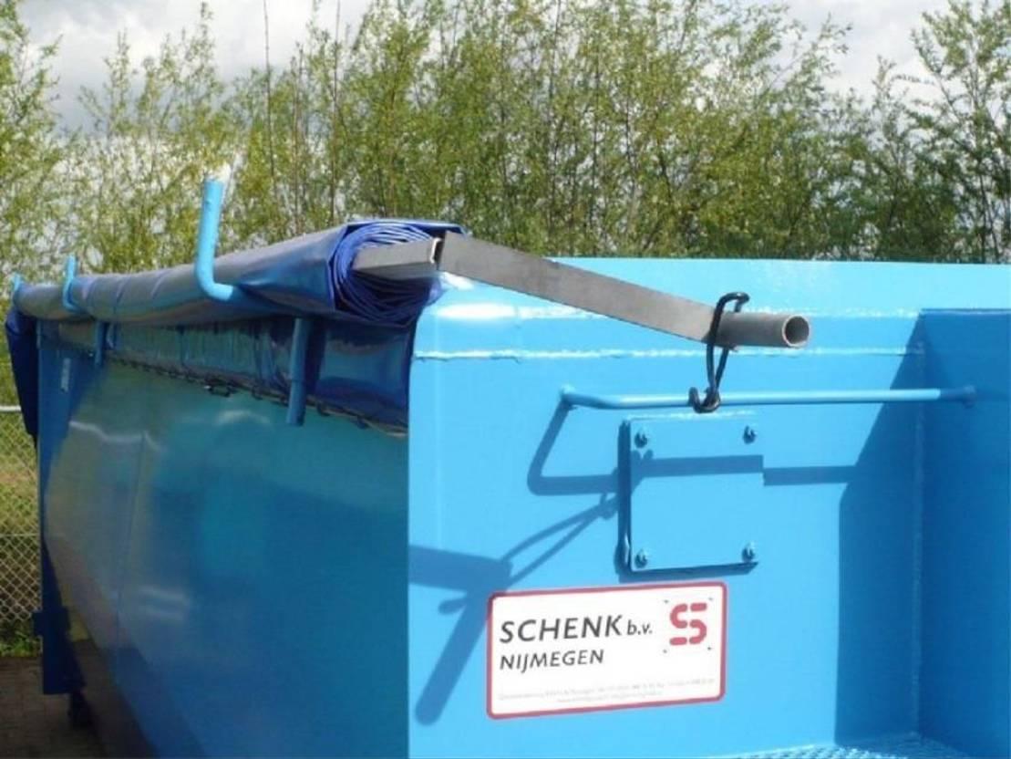 dry standaard zeecontainer Schenk Huurcontainers 7 t/m 80m3
