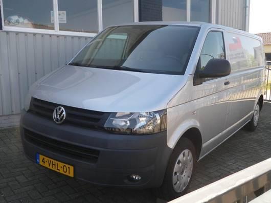 gesloten bestelwagen Volkswagen Transporter T 5 TDI 2010