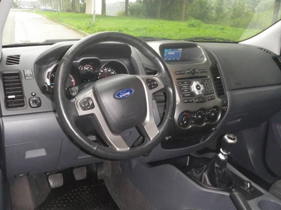 open laadbak bedrijfswagen Ford RANGER TERREINWAGEN RANGER 2012