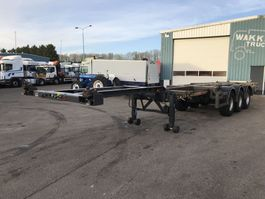 container chassis oplegger Kromhout DRUM 2 X EXTANDABLE 1996