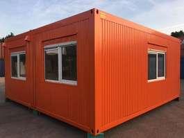 kantoor woonunit container Winters Tweedehands Bureelcontainers 6 x 6m