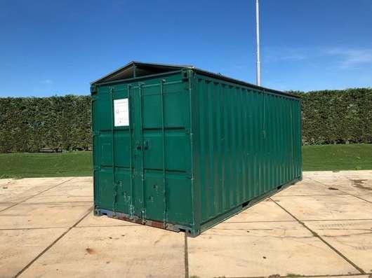 dry standaard zeecontainer 30 m3 Container met Afneembaar dak