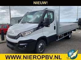 platform bedrijfswagen Iveco daily 35-140 automaat airco openlaadbak 420lang 2020