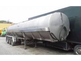 tankoplegger Kaessbohrer TANK 32.000 Liter INOX Edelstahl Isoliert BPW Eco 1990