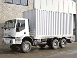 containersysteem vrachtwagen Iveco 260E37