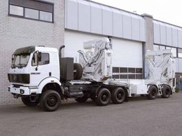 container chassis oplegger Klaus SAC 23