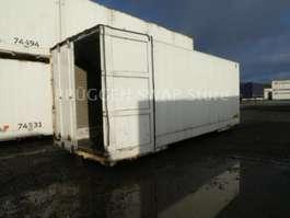 containersysteem oplegger Krone Glattwand WKO BDF-7.45 als mob. Lager !!! 2010