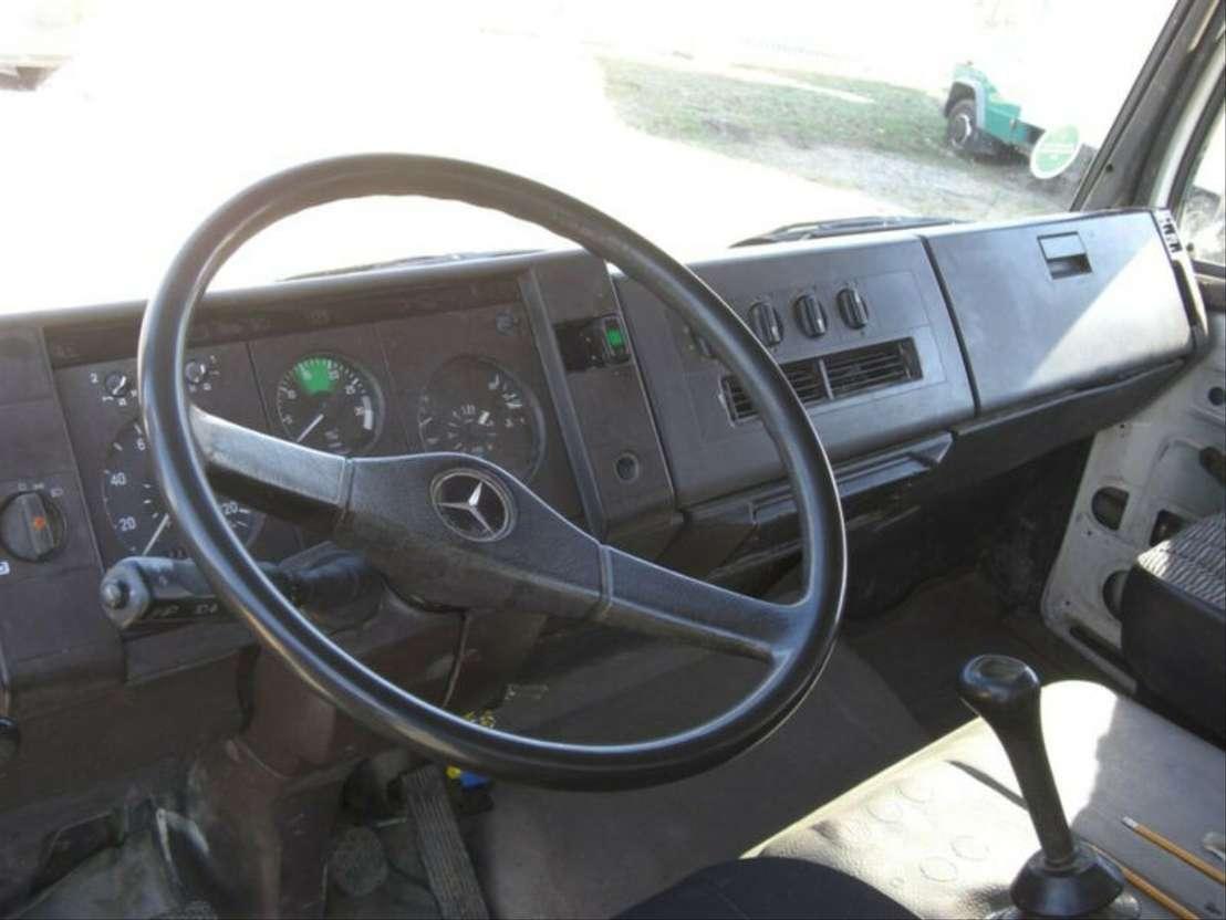 huifzeil bedrijfswagen Mercedes Benz 809