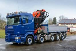 kraanwagen Scania FASSI820FJ - Greifer - KORB - Dreiseiten HARDOX 2020