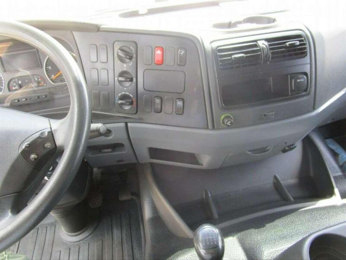 huifzeil bedrijfswagen Mercedes Benz ATEGO III 824 L Pritsche/Pl. 6,15 m LBW 1 T*AHK 2012
