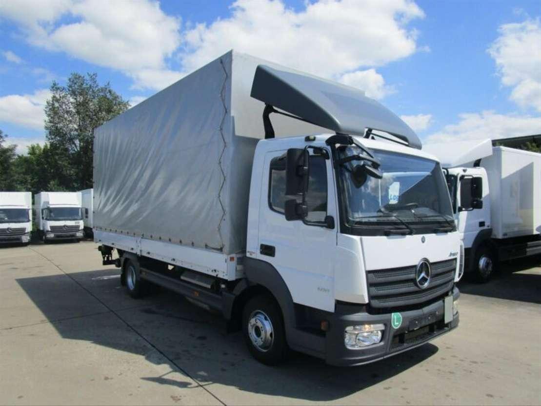 huifzeil bedrijfswagen Mercedes Benz ATEGO IV 818 Pritsche/Pl. 6,10 m LBW 1,5 to.*AHK 2014