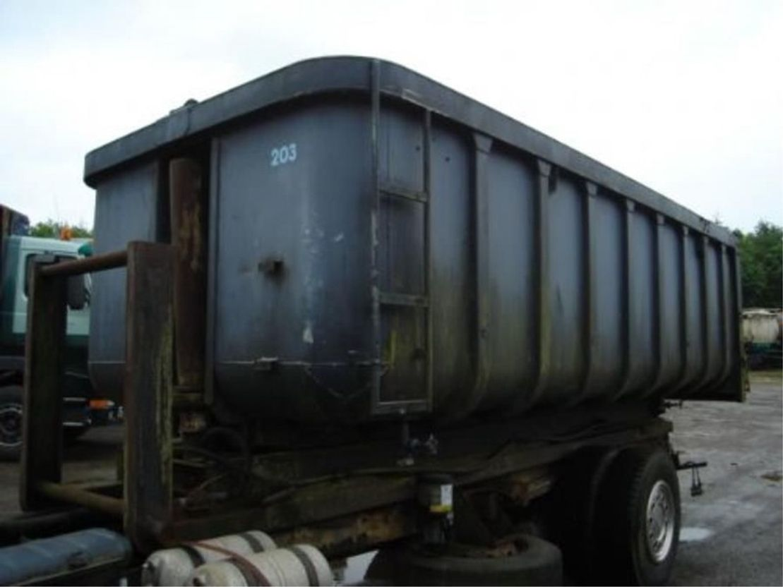 open top zeecontainer TRANSLIFT vloeistofdicht op nch fream kipper/binnenwerks 560 l-230 b-150 h-achterklep